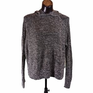 American Eagle Outfitters Hooded Knit Sweater Sz L